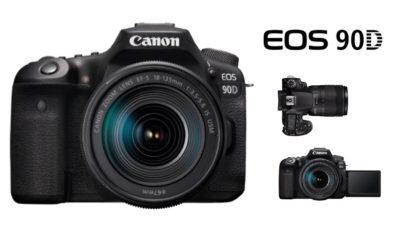Canon annonce l'arrivée de l'EOS 90D
